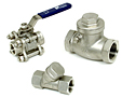 accessories ball valves check valves strainer