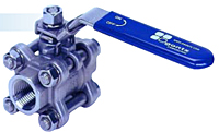 3-Piece Full Port Ball Valve