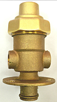 PP Flow Through Freeze Protection Drain Valve